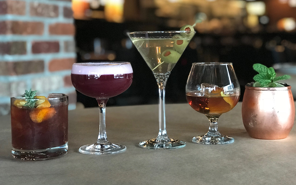 Cocktails & Martinis